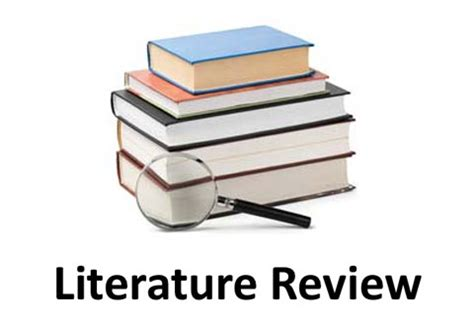 Example literature review thesis