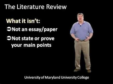 Sample of Research Literature Review